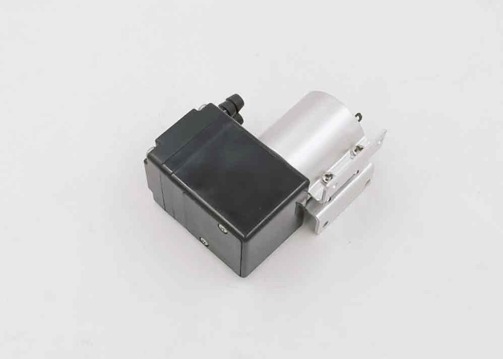 Small Size Brush Micro DC Diaphragm Pump 12v Juicer Vacuum Type 130kpa Pressure